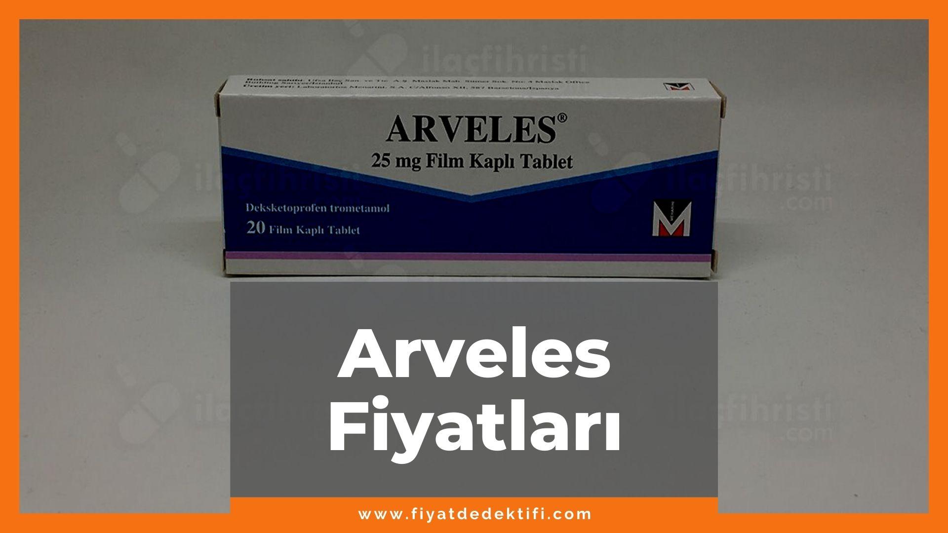 Arveles Fiyat, Arveles Fiyatı, Arveles Ağrı Kesici Fiyatı, Arveles 25 mg Fiyat - güncel detaylı eczane bilgileri ile arveles fiyatları