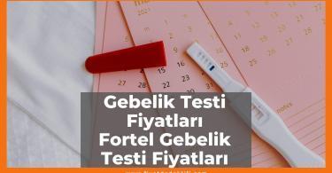 Gebelik Testi Fiyat Fortel Gebelik Testi Fiyat